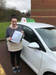 Jasmine passed with Kiran's Driving School