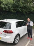 Terry passed with Kiran's Driving School