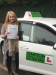 Claudia passed with Kiran's Driving School