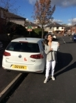Melissa passed with Kiran's Driving School
