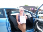Georgie passed with Launders Driving School