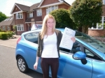 Hannah passed with Launders Driving School