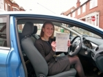 Rosy passed with Launders Driving School