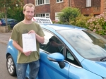 Rowan passed with Launders Driving School