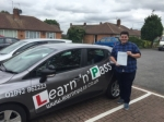 Mathew passed with Learn n Pass