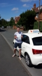 Aaron Phillips passed with Lets Go Driving School