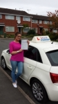 Adela Valentina passed with Lets Go Driving School