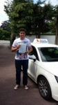 Alessio Scimeca passed with Lets Go Driving School
