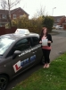 Amber Moore passed with Lets Go Driving School