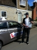 Ben Plawustiak passed with Lets Go Driving School