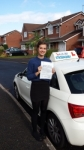 Charlotte Heeks passed with Lets Go Driving School