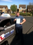 Daniel Fisher passed with Lets Go Driving School