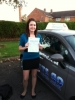 Elise Muckart passed with Lets Go Driving School