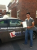 Filippo Spica passed with Lets Go Driving School