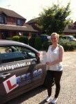 Jessica Alice passed with Lets Go Driving School