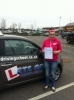 Jessica Harris passed with Lets Go Driving School