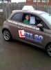 Jodie Smith passed with Lets Go Driving School