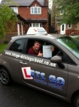Joe Gisbourne passed with Lets Go Driving School