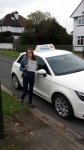 Larissa Hall passed with Lets Go Driving School