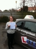 Laura Moffat passed with Lets Go Driving School