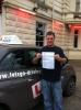 Marco passed with Lets Go Driving School