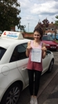 Megan Thomas  passed with Lets Go Driving School