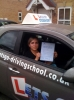 Monika Miller passed with Lets Go Driving School