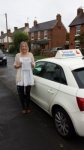 Natasha Ann passed with Lets Go Driving School