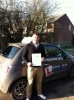 Ollie Scarott passed with Lets Go Driving School