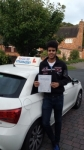 Stefano Vernaschi passed with Lets Go Driving School