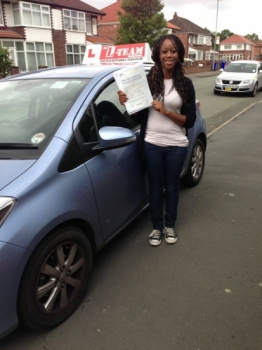 thank you L team driving school my instructor that you gave me sira help me to pass my test first time i recommend any one to learn with L TEAM  driving school thanks again.)  3/07/2013...