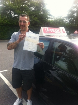 how kool is this booked an intensive course and in two weeks time i have pass my test with 2 minors ..lol. 8/07/2013...