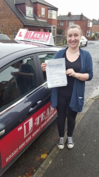 I passed my driving test today FIRST time may i add. I am so proud of myself and its all down the the help and patience of my instructor, i have had lessons previously with other companies and i can honestly say that the method they used is in no comparison to how tal teaches you, he is very clear with instructions and methods on how to make things...