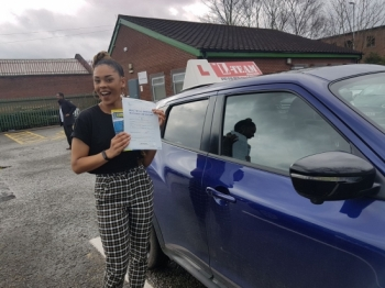 Congratulations to Bianca passing her driving test with L-Team driving school for the first time!! #passed#driving#learner🏆 #manchester#drivinglessons #help #learning #cars Call us know to get booked in on 0333 240