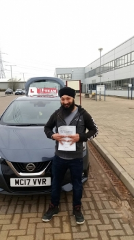 Congratulations to Sanmeet passing his driving test with L-Team driving school for the first time!! #passed#driving#learner🏆 #manchester#drivinglessons #help #learning #cars Call us know to get booked in on 0333 240 6430  PASS IN APRIL 2018...