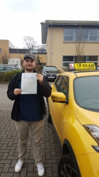 Congratulations to Miro passing his driving test with  L-Team driving school for the first time!! #passed#driving#learner🏆 #manchester#drivinglessons #help #learning #cars Call us know to get booked in on 0333 240 6430  PASS IN APRIL 2018...