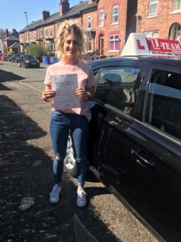 Congratulations to Lucinda passing her driving test with L-Team driving school for the first time!! #passed#driving#learner🏆 #manchester#drivinglessons #help #learning #cars Call us know to get booked in on 0333 240 6430