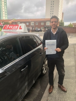Congratulations to Kareem passing his driving test with L-Team driving school for the first time!! #passed#driving#learner🏆 #manchester#drivinglessons #help #learning #cars Call us know to get booked in on 0333 240 6430