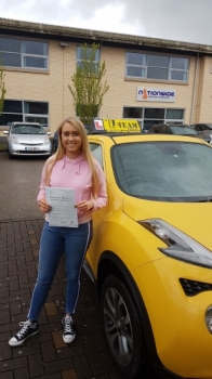 Congratulations to Dulcie passing her driving test with L-Team driving school for the first time!! #passed#driving#learner🏆 #manchester#drivinglessons #help #learning #cars Call us know to get booked in on 0333 240 6430