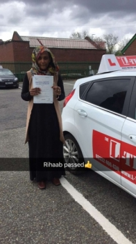 Congratulations to Rihaab passing her driving test with L-Team driving school for the first time!! #passed#driving#learner🏆 #manchester#drivinglessons #help #learning #cars Call us know to get booked in on 0333 240 6430   PASS IN APRIL 2018...