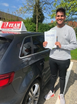 Congratulations to Aman passing his driving test with  L-Team driving school for the first time!! #passed#driving#learner🏆 #manchester#drivinglessons #help #learning #cars Call us know to get booked in on 0333 240 6430   PASS IN MAY 2018...
