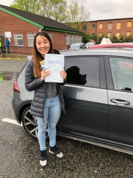 Congratulations to Ying passing her driving test with  L-Team driving school for the first time!! #passed#driving#learner🏆 #manchester#drivinglessons #help #learning #cars Call us know to get booked in on 0333 240 6430   PASS IN MAY 2018...