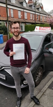Congratulations to Jake passing his driving test with  L-Team driving school for the first time!! #passed#driving#learner🏆 #manchester#drivinglessons #help #learning #cars Call us know to get booked in on 0333 240 6430   PASS IN MAY 2018...