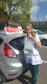 Congratulations to Alex passing her driving test with  L-Team driving school for the first time!! #passed#driving#learner🏆 #manchester#drivinglessons #help #learning #cars Call us know to get booked in on 0333 240 6430   PASSED MAY 2018🏆...
