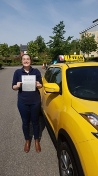 Congratulations to Rachel passing her driving test with  L-Team driving school for the first time!! #passed#driving#learner🏆 #manchester#drivinglessons #help #learning #cars Call us know to get booked in on 0333 240 6430   PASSED MAY 2018🏆...