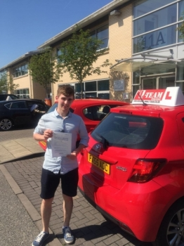 Congratulations to Daniel passing his driving test with  L-Team driving school for the first time!! #passed#driving#learner🏆 #manchester#drivinglessons #help #learning #cars Call us know to get booked in on 0333 240 6430   PASSED MAY 2018🏆...