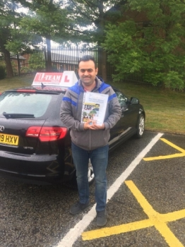 Congratulations to Ahmed passing his driving test with  L-Team driving school for the first time!! #passed#driving#learner🏆 #manchester#drivinglessons #help #learning #cars Call us know to get booked in on 0333 240 6430   PASSED MAY 2018🏆...