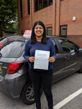 Congratulations to Varuna passing her driving test with  L-Team driving school for the first time!! #passed#driving#learner🏆 #manchester#drivinglessons #help #learning #cars Call us know to get booked in on 0333 240 6430   PASSED JUNE  2018🏆...