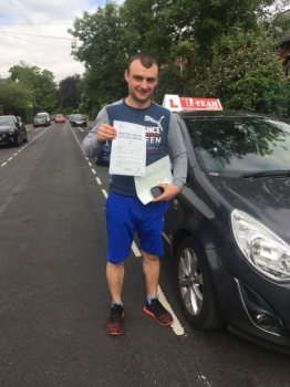 Congratulations to Ion passing his driving test with L-Team driving school for the first time!! #passed#driving#learner🏆 #manchester#drivinglessons #help #learning #cars Call us now to get booked in on 0333 240 6430  PASSED JUNE 2018🏆...