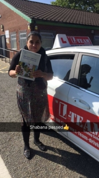 Congratulations to Shabana passing her driving test with L-Team driving school for the first time!! #passed#driving#learner🏆 #manchester#drivinglessons #help #learning #cars Call us now to get booked in on 0333 240 6430  PASSED JUNE 2018...